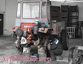 Тандемный ремонт Т-16 и Т-40 6