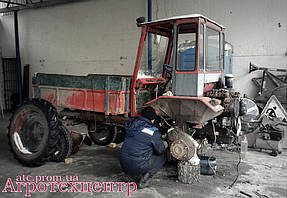Тандемный ремонт Т-16 и Т-40 7