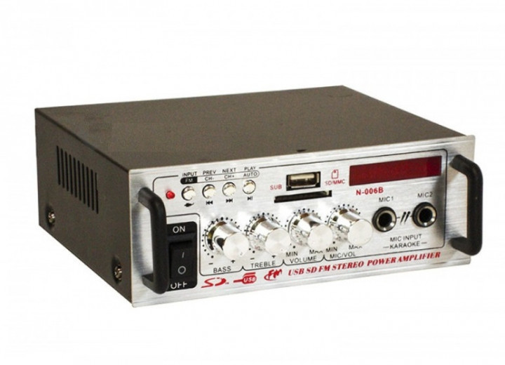 Усилитель звука Bluetooth UKC SN-808AC