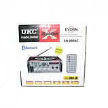 Усилитель звука Bluetooth UKC SN-808AC, фото 2