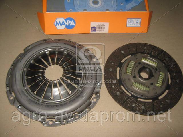 Сцепление (001240409) VW LT 28-35 II, 28-46 II 2.5 TDI 01-06 (пр-во Ma-pa)