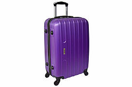 Дорожній валізу на колесах Siker Line Фіолетовий Середній