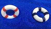 Декоративный спасательный круг Синий/Красный для муравьиной фермы (2,5х2,5 см)