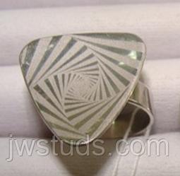 Кольцо серебро 925, безкаменка, размер 18,5 вес 5,98