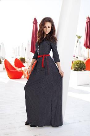 Платье с принтом горошек, фото 2