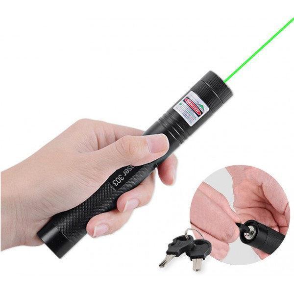 Лазерная указка Green Laser Pointer 303 зеленая