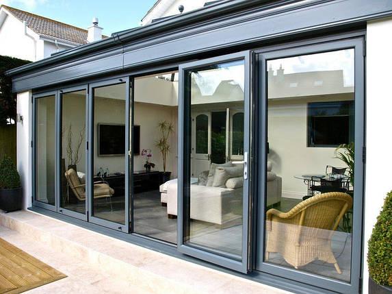 Параллельно-раздвижные алюминиевые двери, фото 2