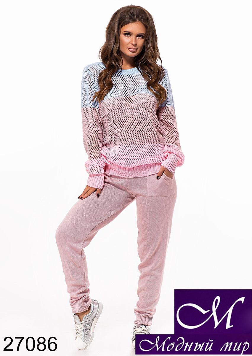 Женский розовый спортивный костюм (р. УН - 42-46) арт. 27086