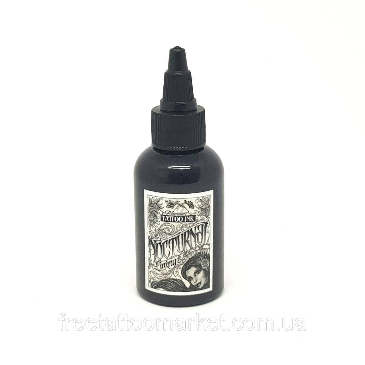 Краска для тату Nocturnal Tattoo Ink Lining and Shading 2 унции (60 мл)