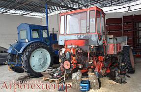 Тандемный ремонт Т-16 и Т-40 16