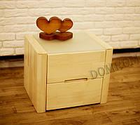 """Дизайнерская тумбочка """"Орео"""" из дерева под лак, фото 1"""