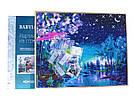Картина из страз Babylon Фонарь и голубые мотыльки (ST223) 40 х 50 см (На подрамнике), фото 2