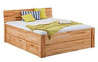 Кровать из массива дерева 014