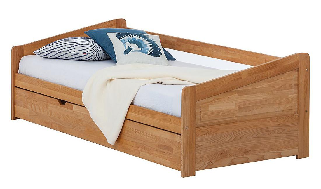 Кровать из дерева 017