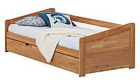 Кровать из массива дерева 017