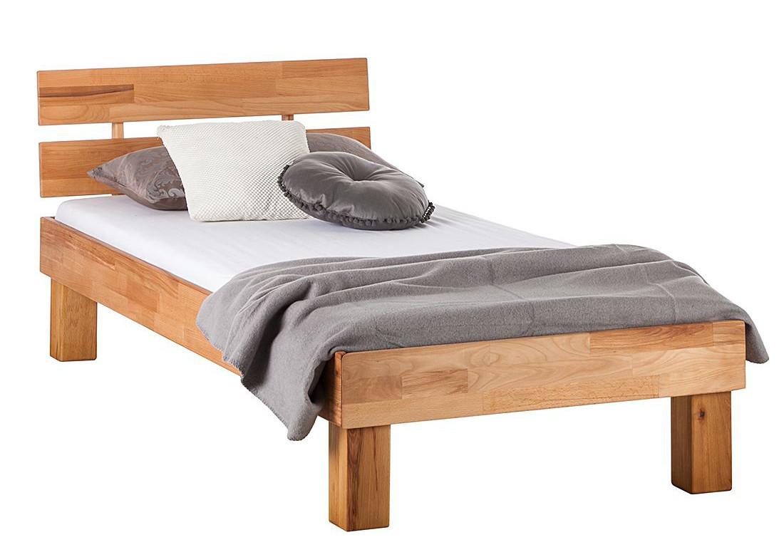Ліжко з масиву дерева 018