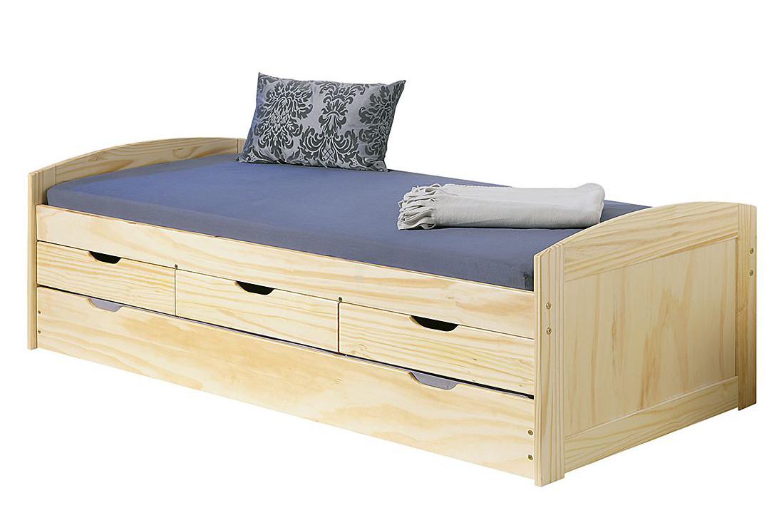 Ліжко з дерева 021