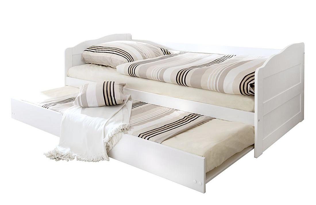 Ліжко з масиву дерева 024
