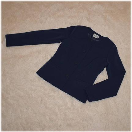 Жакет школьный для девочки  синего цвета ТМ Newpoint  размеры 158, фото 2