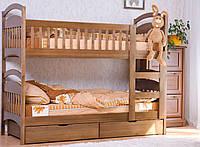 Кровать из массива дерева 029