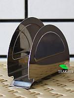 Салфетница Flamberg, нержавеющая сталь, 12х5 см