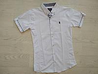 Рубашка для мальчика белая р.  164