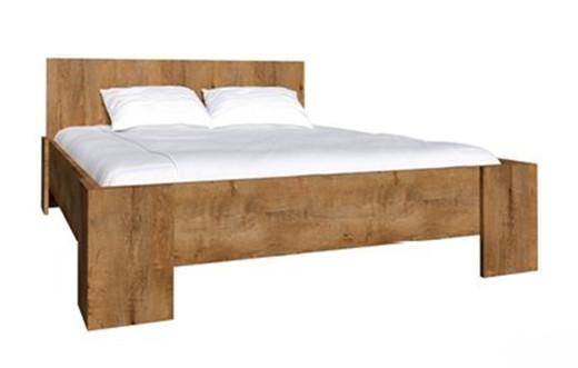 Ліжко з масиву дерева 057