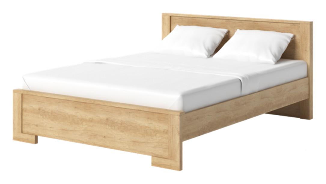Ліжко з масиву дерева 060