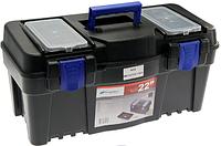 Ящик для инструментов, корпус: полипропилен, цвет: Чёрный, (x 55 x 27 см)