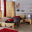 Кровать из массива дерева 077, фото 5