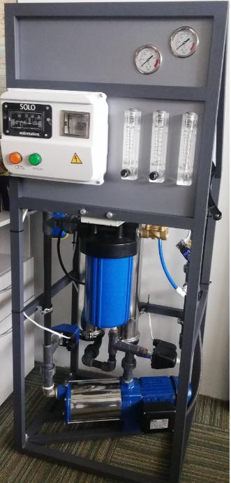 Промислова система зворотного осмосу Raifil RO-500 (500 л/год) (в комплекті 2 мембрани)
