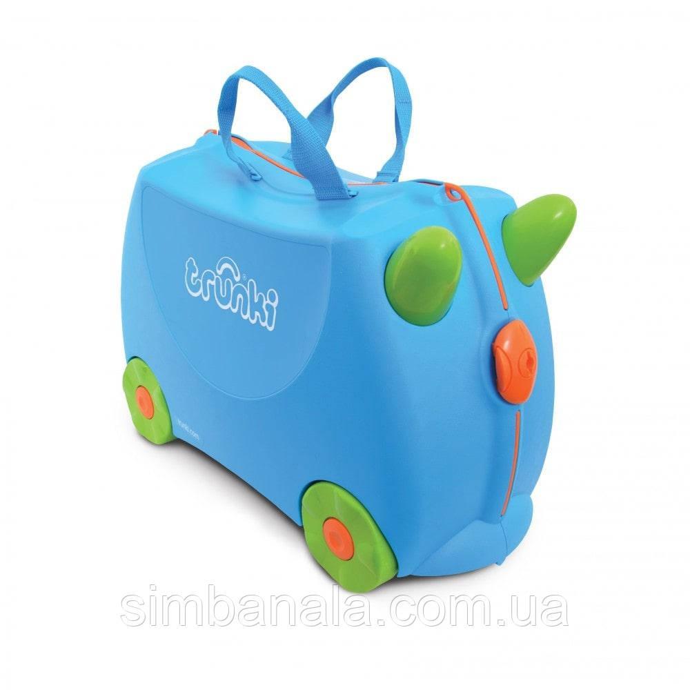Детский чемодан на колесах Trunki Terrance, Великобритания