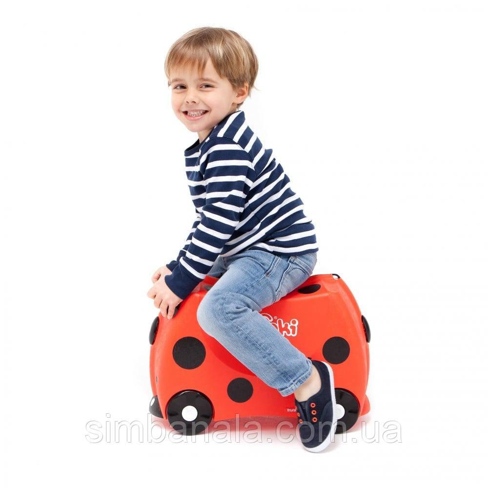 Детский чемоданчик на колесах Trunki Harley (0092-TRU)