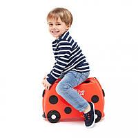 Детский чемоданчик на колесах Trunki Harley (0092-TRU), фото 1