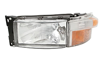 Фара главного света Scania (левая) с поворотником