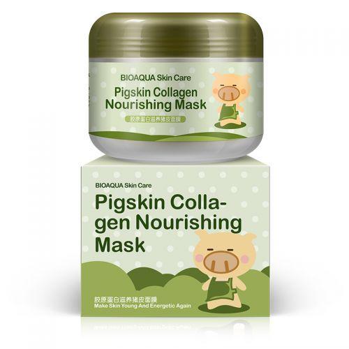 Маска для лица с коллагеном bioaqua skin care pigskin collagen bioaqua, 100 г