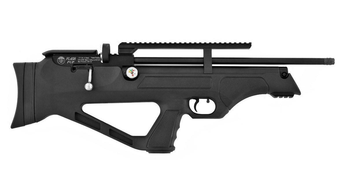 Пневматическая винтовка Hatsan Flashpup S + Насос Hatsan
