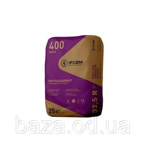 ЦЕМЕНТ ПЦ II/Б-ДО 400 25 КГ (ІВАНО-ФРАНКІВСЬК)