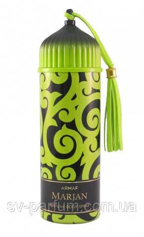 Парфюмированный дезодорант мужской Marjan Green 200ml