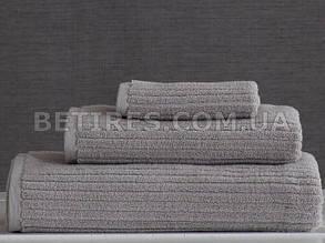 Набор полотенец PAVIA STRIPE 2019 GRI 3шт. (75х150,50х85,30x30) серый