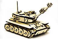 3D конструктор деревянный ТАНК M-60
