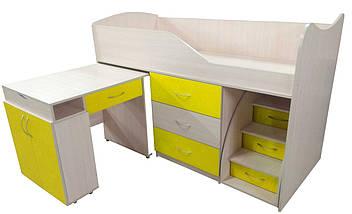 Кровать-комната №5 с выкатным столиком ТМ Viorina-Deko, фото 3
