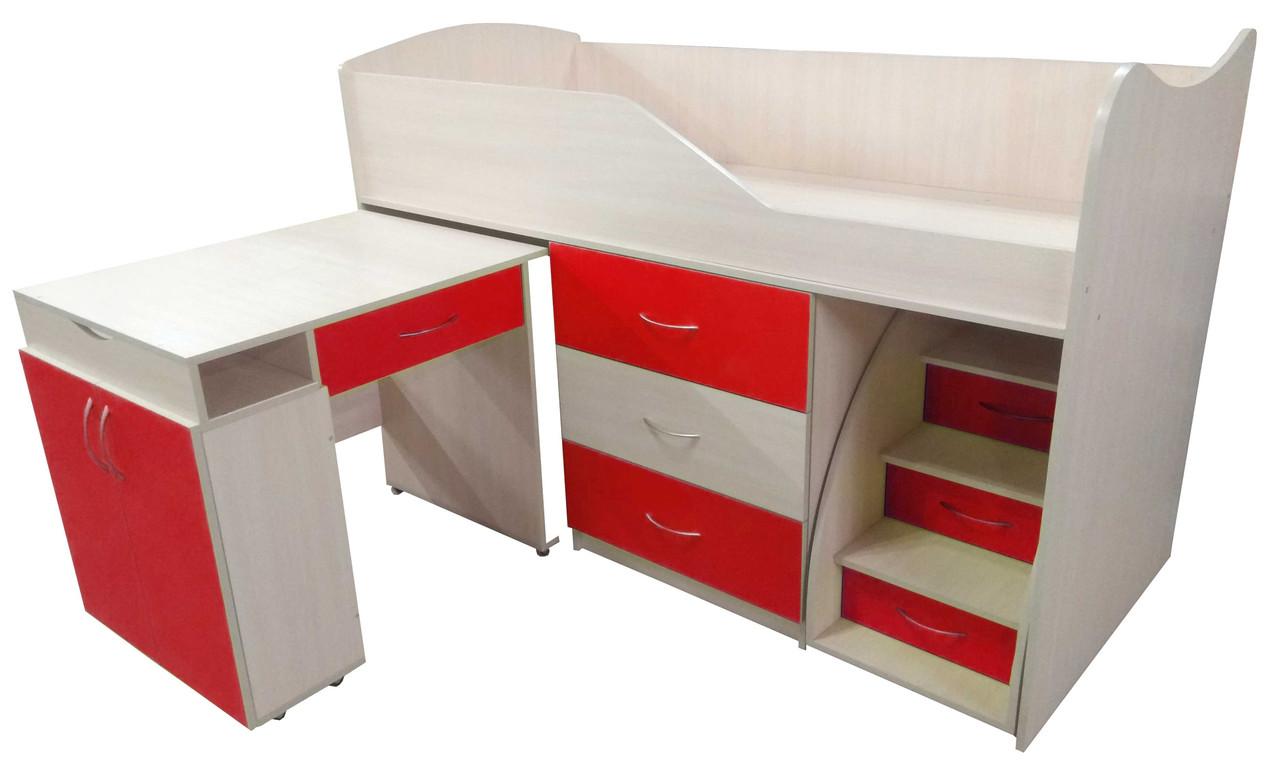 Кровать-комната №5 с выкатным столиком ТМ Viorina-Deko