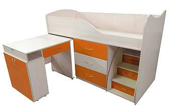 Кровать-комната №5 с выкатным столиком ТМ Viorina-Deko, фото 2