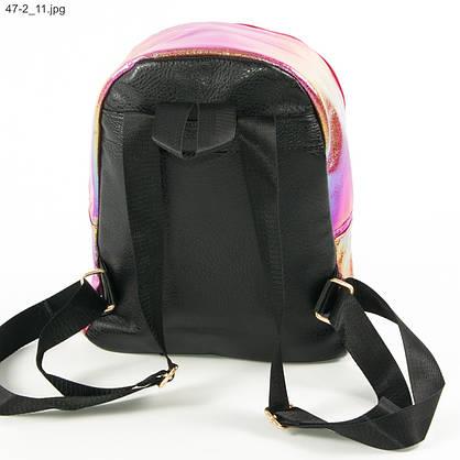 Подростковый рюкзак для девочек - №19-47-2 - Малиновый, фото 3