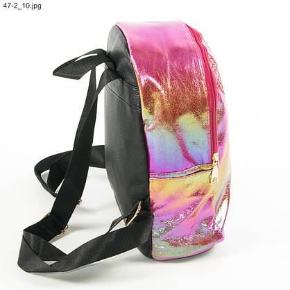 Подростковый рюкзак для девочек - №19-47-2 - Малиновый, фото 2