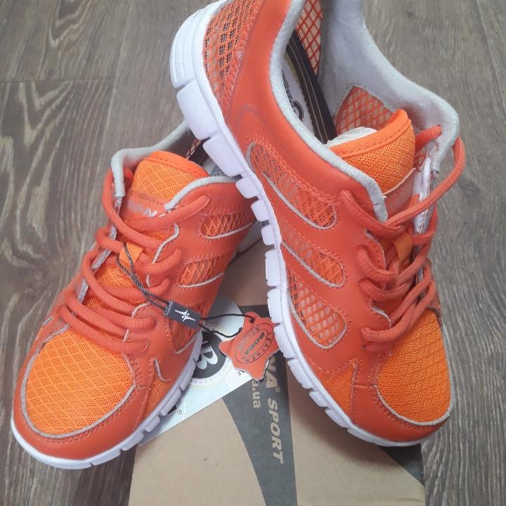 Кроссовки Bona сетка оранжевые размер 38