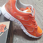 Кроссовки Bona сетка оранжевые размер 38, фото 4