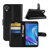Чехол Luxury для Asus Zenfone Live L2 (ZA550KL) книжка черный