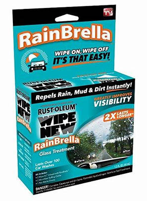 Антидождь Rain Brella жидкость для защиты стекла от воды и грязи, фото 2